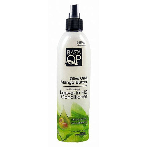 Elasta QP Olive Oil and Mango Butter Leave In H2 Conditioner - 8oz spray