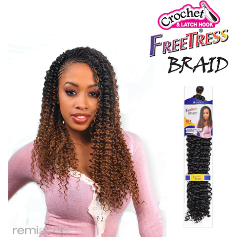 Shake-N-Go Free Tress Braid WATER WAVE 22""