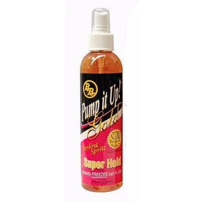 Pump It Up Spritz - GOLD - SUPER HOLD - 8oz pump spray