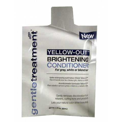 Gentle Treatment Yellow Out Brightening Conditioner - 1.75oz pack