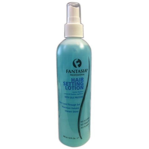 Fantasia Professional Hair Setting Lotion with Silk Protein 12oz