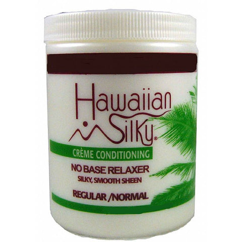 Hawaiian Silky Creme Conditioning NO BASE RELAXER - 20oz jar