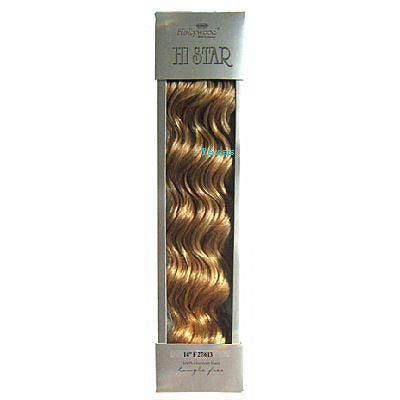 Hollywood HI STAR Weaving Hair - 14inch Human Hair