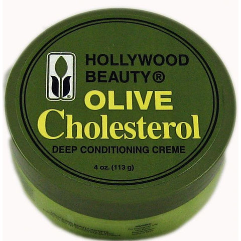 Hollywood Beauty Olive Cholesterol Deep Conditioning Creme - 4oz jar