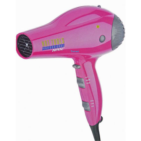 Hot Tools PINK Ionic AntiStatic LightWeight HairDryer - Model 1035RPK