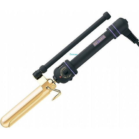 Hot Tools 1inch Jumbo MARCEL Curling Iron / Wand - 24K Gold  - Model 1108