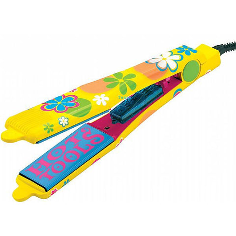 Hot Tools 1 3/4inch Tourmaline Ceramic Ti Flat Iron - Flowers 1165MOD