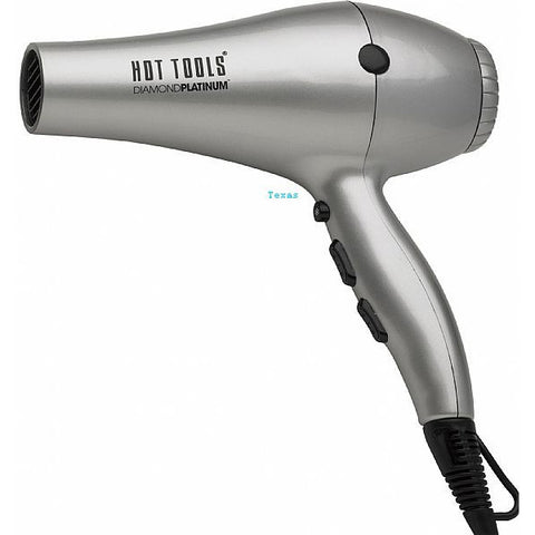 Hot Tools Diamond Platinum Ionic Salon Dryer - model HTP2500