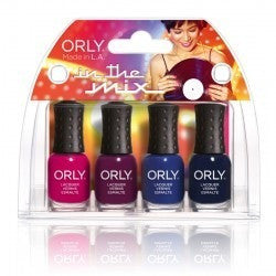 ORLY IN THE MIX Mani Mini Kit 4-PC