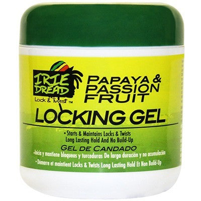 Irie Dread Papaya and Passion Fruit Locking Gel - 6oz