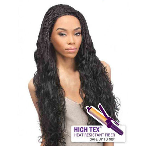 Outre Lace Front Wig Batik Bundle Hair - Brazilian Braid
