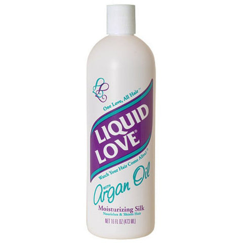 Liquid Love Argan Oil Moisturizing Silk - 16oz bottle