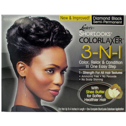 Lusters ShortLooks COLORLAXER 3 in 1 SemiPermanent Hair Color (NO CA)