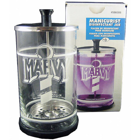 Marvy Disinfectant GLASS JAR - SIZE #6