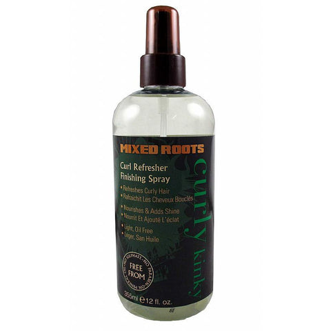 Mixed Roots Curl Refresher Finishing Spray - 12oz spray