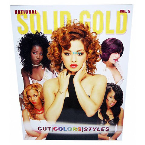 National Solid Gold Cut Colors Styles - vol 5