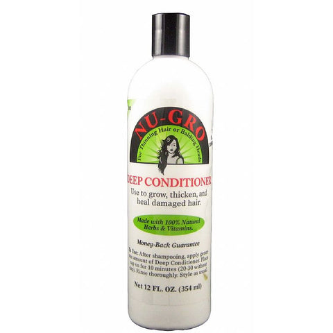 Nu Gro Deep Conditioner - 12oz bottle