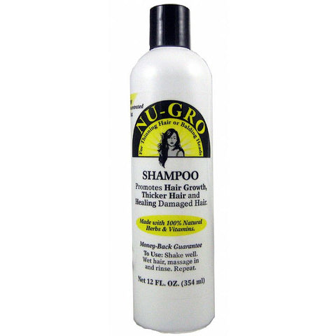 Nu Gro Shampoo for Thinning or Balding - 12bottle