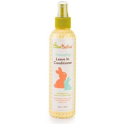 Olive Babies Hair Detangling Leave-In Conditioner Spray - 8oz