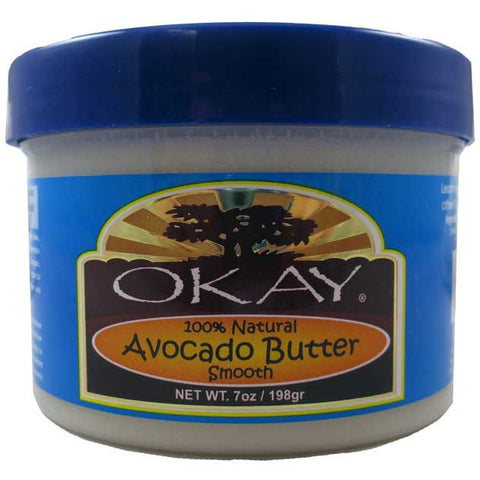 Okay Avocado Butter Smooth 100% natural - 7oz jar