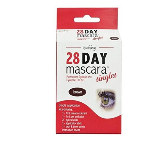 GodeFroy 28 Day Mascara Permanent Eyelash Tint Kit - Singles
