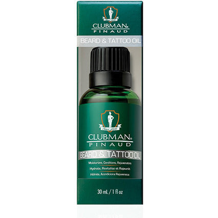 Clubman Beard And Tattoo Oil - 1oz