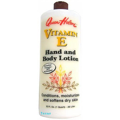 Queen Helene VITAMIN E Hand and Body Lotion - 32oz bottle