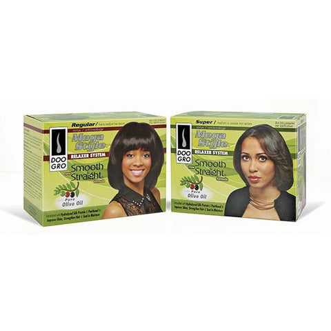Doo Gro SMOOTH & STRAIGHT AntiBreakage NO LYE Relaxer Kit (NO CA)