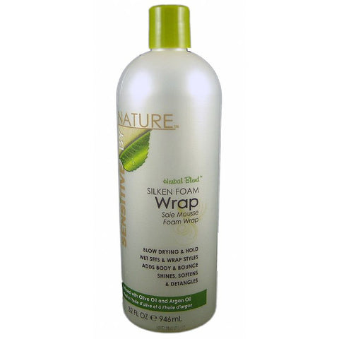 Sensitive by Nature Silken Foam Wrap - 32oz bottle