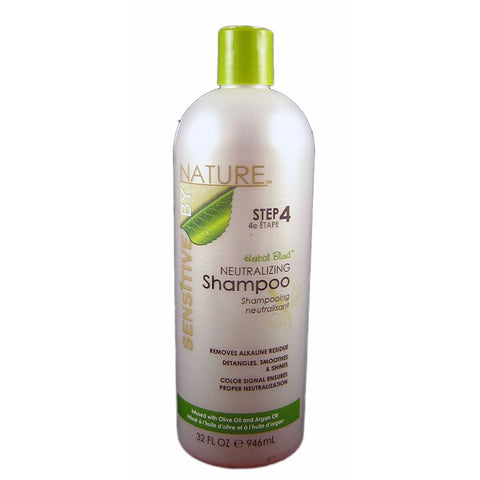 Sensitive by Nature Herbal Blend Neutralizing Shampoo - 32oz bottle