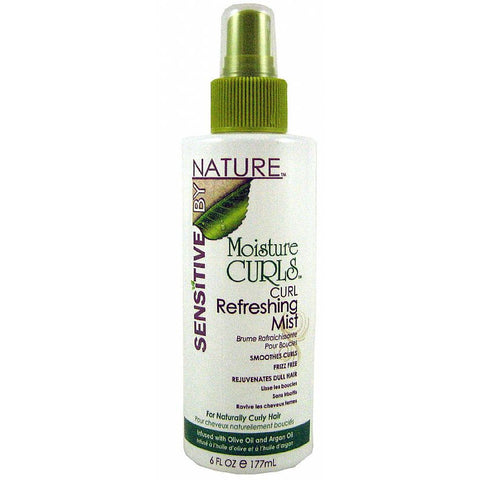 Sensitive by Nature Moisture Curls Curl Refreshing Mist - 6oz spray