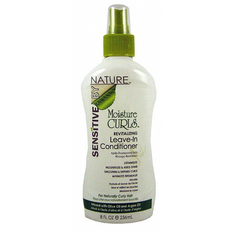 Sensitive by Nature Moisture Curls Revitalizing Leave In Conditioner - 8oz spray