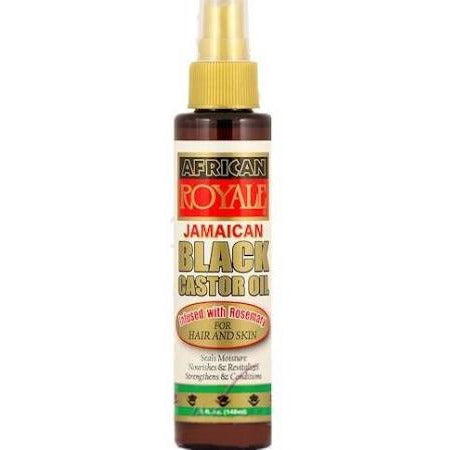African Royal Jamaican Black Castor Oil - 5oz