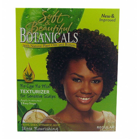 Soft & Beautiful BOTANICALS Texturizer No-Lye No Mix Kit