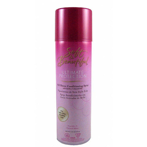 Soft & Beautiful OIL SHEEN CONDITIONING SPRAY - 12oz aerosal
