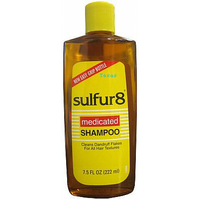 sulfur8 Medicated Shampoo - Bottle - 7.5 oz (NO CA)