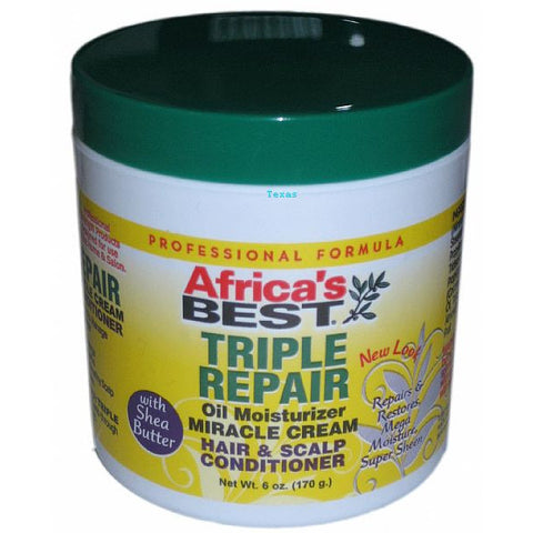 Africa Best TRIPLE REPAIR Oil Moisturizer - 6oz jar