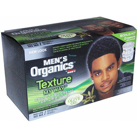 Africa Best ORGANICS Texture My Way Comb Thru Creme Texturizing Kit #23801