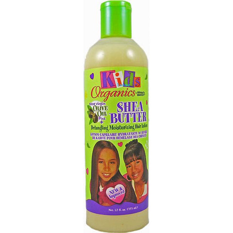 Africa Best Kids Organics Shea Butter DETANGLING MOISTURIZING Hair Lotion - 12oz bottle