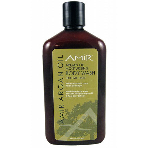 Amir Argan Oil Moisturizing Body Wash Sulfate Free - 18oz bottle