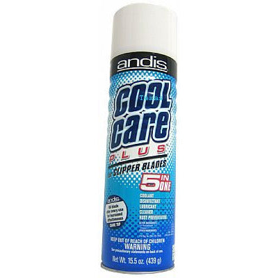 Andis COOL CARE PLUS for Clipper Blades - 15.5oz aerosal