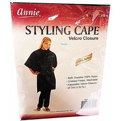 Annie Styling Cape Velcro Closure