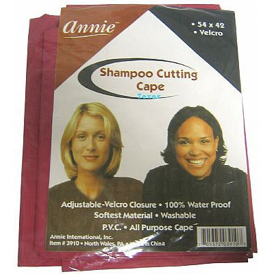 Annie Shampoo Cutting Cape size 54 x 42 - #3910