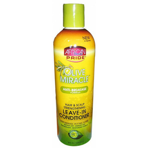 African Pride Olive Leave In Conditioner - 12oz #44112