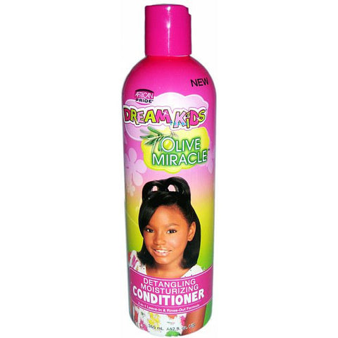 African Pride DREAM KIDS OLIVE MIRACLE Conditioner - 12oz bottle