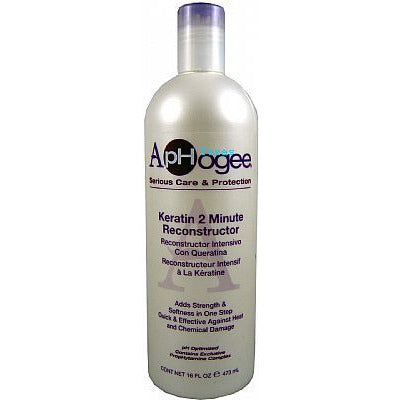 Aphogee Keratin 2 Minute Reconstructor - 16oz bottle