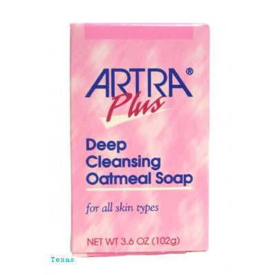 Artra Plus DEEP CLEANSING OATMEAL SOAP for all skin types - 3.6oz