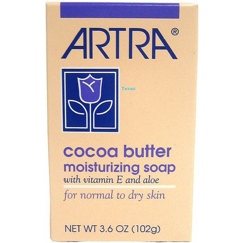 Artra Cocoa Butter Moisturizing Soap for Normal to Dry Skin - 3.6oz