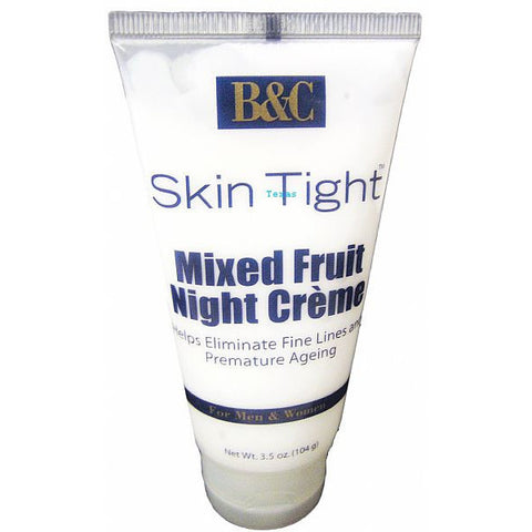 B&C Skin Tight Mixed FRUIT Night Creme 3.5oz tube