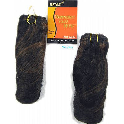 Enstyle H Romance CURL 100% Human WEAVING hair - 8inch